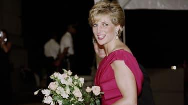 Lady Diana à Washington, le 4 octobre 1990