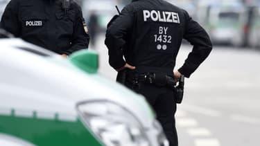 Des policiers allemands (photo d'illustration)