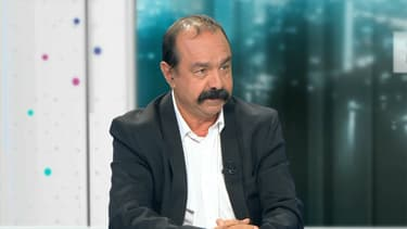 Philippe Martinez, invité de BFMTV.