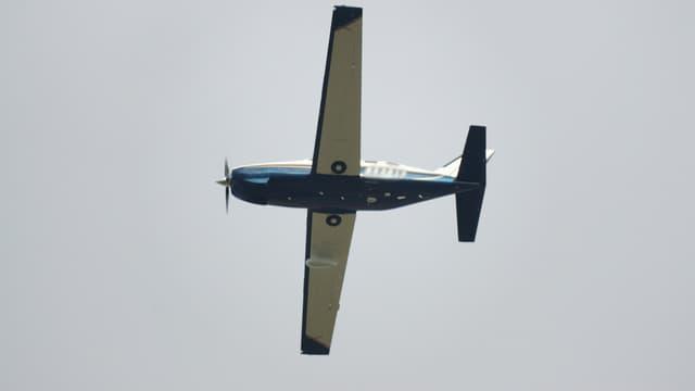 Avion de type Piper Malibu.