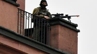 La police allemande a interpellé mardi matin un Syrien de 19 ans soupçonné de préparer un attentat islamiste à l'explosif dans le pays
