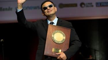 Wong Kar-wai a reçu le 20 octobre à Lyon le 9e Prix Lumière pour l'ensemble de sa carrière