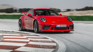 La nouvelle Porsche 911 GT3, dernière variante du mythique coupé.