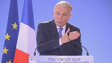 Jean-Marc Ayrault a annoncé son plan d'action pour Marseille.