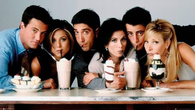 Une affiche de Friends.