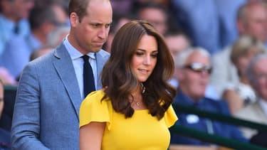 Le prince William et Kate Middleton en juillet 2018 à Londres