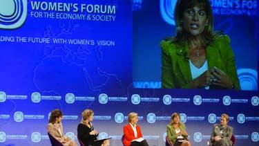 Les femmes ne dirigent que 18,3% des entreprises dans le monde. Ici, Anne Lauvergeon, ex-patronne d'Areva, actuelle dirigeante de Sigfox.