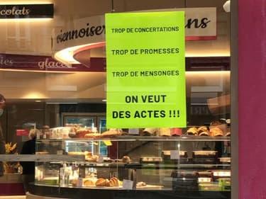 Les commerçants de la Guillotière manifestent ce jeudi 21 octobre contre l'insécurité en baissant symboliquement le rideau.