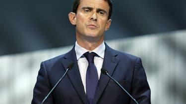 Manuel Valls à Lyon le 25 septembre 2014.