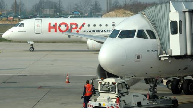 Hop! est la filiale à bas coût d'Air France