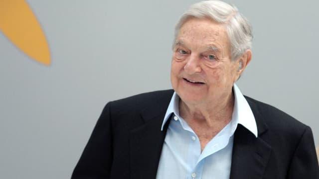 George Soros est l'homme qui avait sauter la Banque d'Angleterre