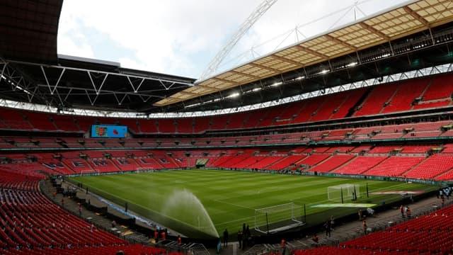 Depuis un an, le mythique stade de Wembley sonne creux.