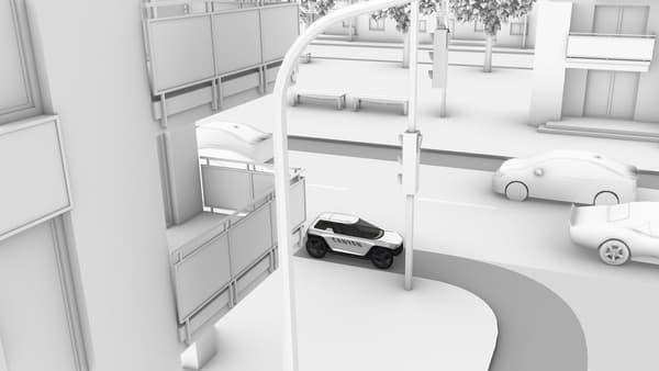 Ce véhicule est conçu pour circuler sur routes ou pistes cyclables