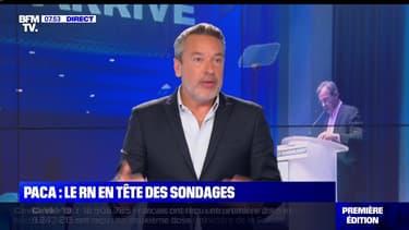 L'édito de Matthieu Croissandeau: Le RN en tête des sondages en Paca - 25/09