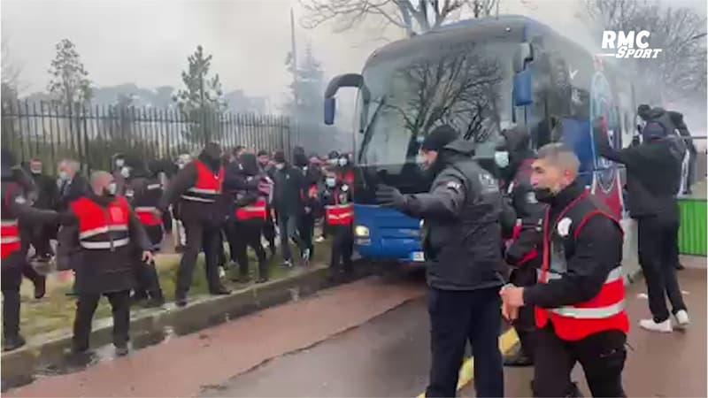 PSG - Lille : L'accueil des supporters parisiens avant le 8e de Coupe de France