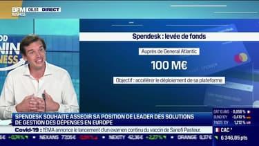 Rodolphe Ardant (Spendesk) : Spendesk lève 100 M € auprès de General Atlantic - 21/07