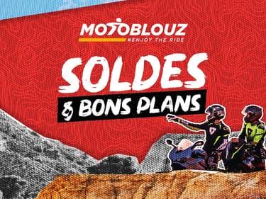 Soldes : jusqu'à -50% de remise sur les équipements pilote, pièces et accessoires chez Motoblouz