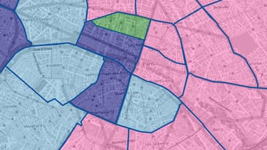 Le rapport de force arrondissement par arrondissement à Paris.