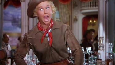 Doris Day dans le rôle de Calamity Jane en 1953.