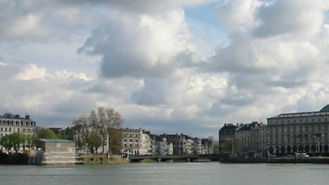 L'Adour à Bayonne.