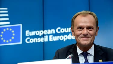 Donald Tusk (sur la photo) va remplacer Herman Van Rompuy.