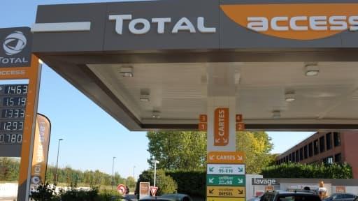 Le concept des stations Total Access, basé sur des prix bas, a permis au groupe pétrolier de reconquérir 600.000 clients.