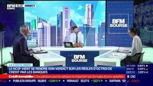 Marie Coeurderoy (BFM Business) et Philippe Taboret (Cafpi) : Le HCSF vient de rendre son verdict sur les règles d'octroi de crédit par les banques - 14/09