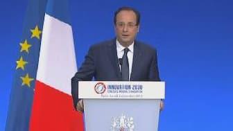 François Hollande veut que la France progresse dans les classements en matière d'innovation.