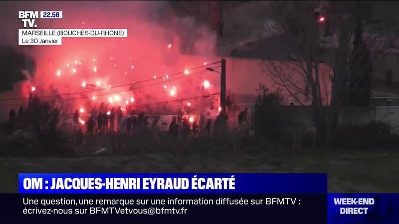 Football: le président de l'OM Jacques-Henri Eyraud écarté