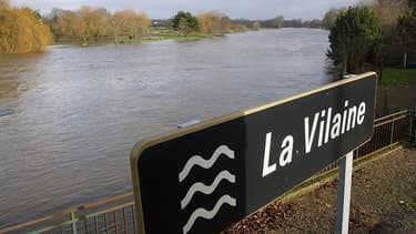 C'est un affluent de La Vilaine, La Seiche, qui avait été polluée par un déversement de lactose (image d'illustration).
