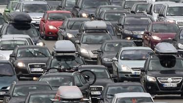 Embouteillages. (illustration)