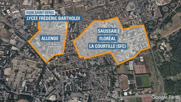 Deux cités rivales se livrent une guerre de territoire à Saint-Denis.