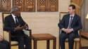 L'émissaire de l'Onu et de la Ligue arabe, Kofi Annan, a achevé dimanche deux journées d'entretiens avec Bachar al Assad sans obtenir de progrès significatifs sur une issue aux violences qui se poursuivent depuis un an en Syrie. /Photo prise le 10 mars 20