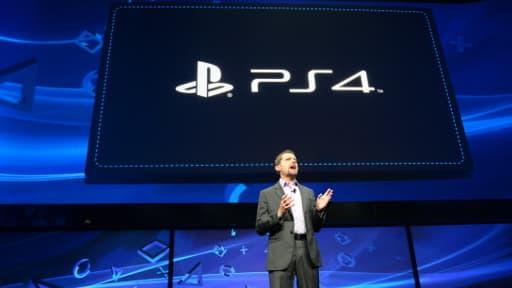 Andrew House,  le PDG de Sony Computer Entertainment, lors de la présentation de la PS4, le 20 février dernier.