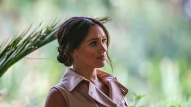 Meghan Markle, duchesse de Sussex, à Johannesburg, en Afrique du Sud, le 2 octobre 2019