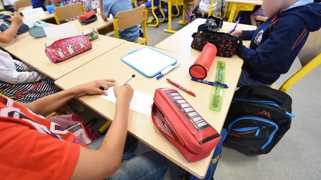 Une école primaire à Bordeaux en septembre 2016 (photo d'illustration)