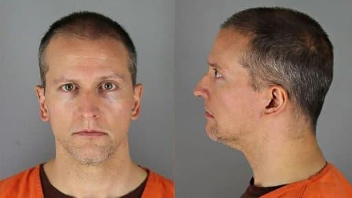 Photo de Derek Chauvin fournie le 31 mai 2020 par les autorités pénitentiaires du comté de Hennepin (Minnesota)