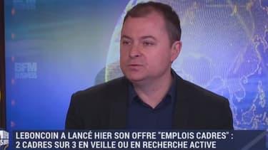 Antoine Jouteau, directeur général du BonCoin