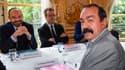 Édouard Philippe et Philippe Martinez