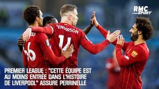 """Premier League : """"Cette équipe est au moins entrée dans l'histoire de Liverpool"""" assure Perrinelle"""