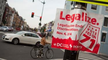 Les habitants de Washington ont approuvé la légalisation du cannabis à 65%.