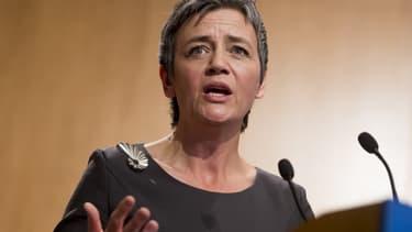Margrethe Vestager, commissaire européen à la Concurrence, a imposé à Orange de céder des actifs pour maintenir la concurrence dans les télécoms en Espagne.