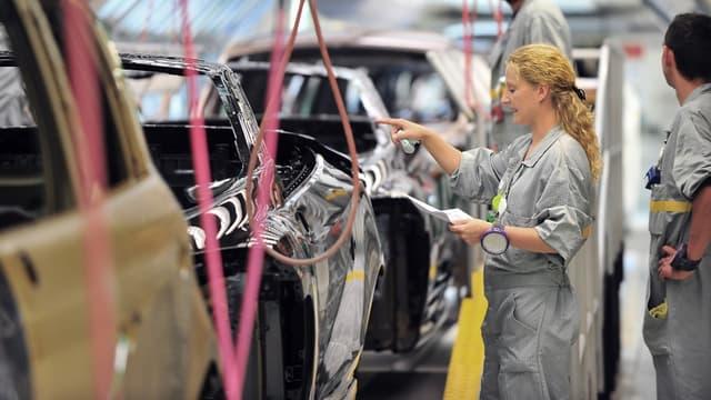 L'usine Renault de Douai, en 2010 (photo d'illustration).