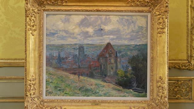 """Le tableau """"Dieppe"""" de Monet le 6 juin 2021 à Montbazon"""