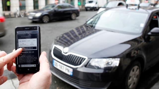 Uber vise un chiffre d'affaires de 2 milliards de dollars en 2015