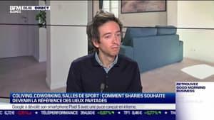 Julien Morville (Sharies) : Sharies souhaite devenir la référence des lieux partagés - 20/10