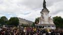 Le rassemblement antiraciste ce samedi après-midi à Paris.