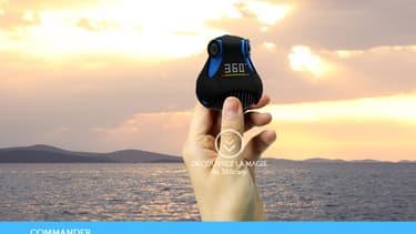 La startup lilloise Giroptic lance sa caméra 360° haute définition.