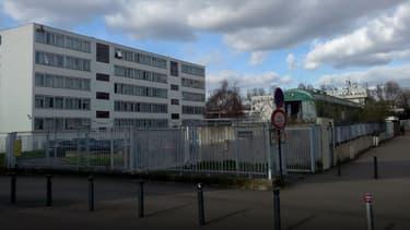 Le lycée Paul Eluard en Seine-Saint-Denis, en mars 2017.