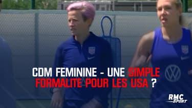 Coupe du monde féminine - Une simple formalité pour les Etats-Unis ?